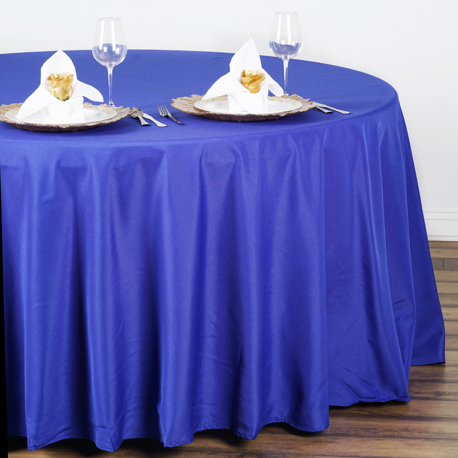 how to make round wedding tablecloths