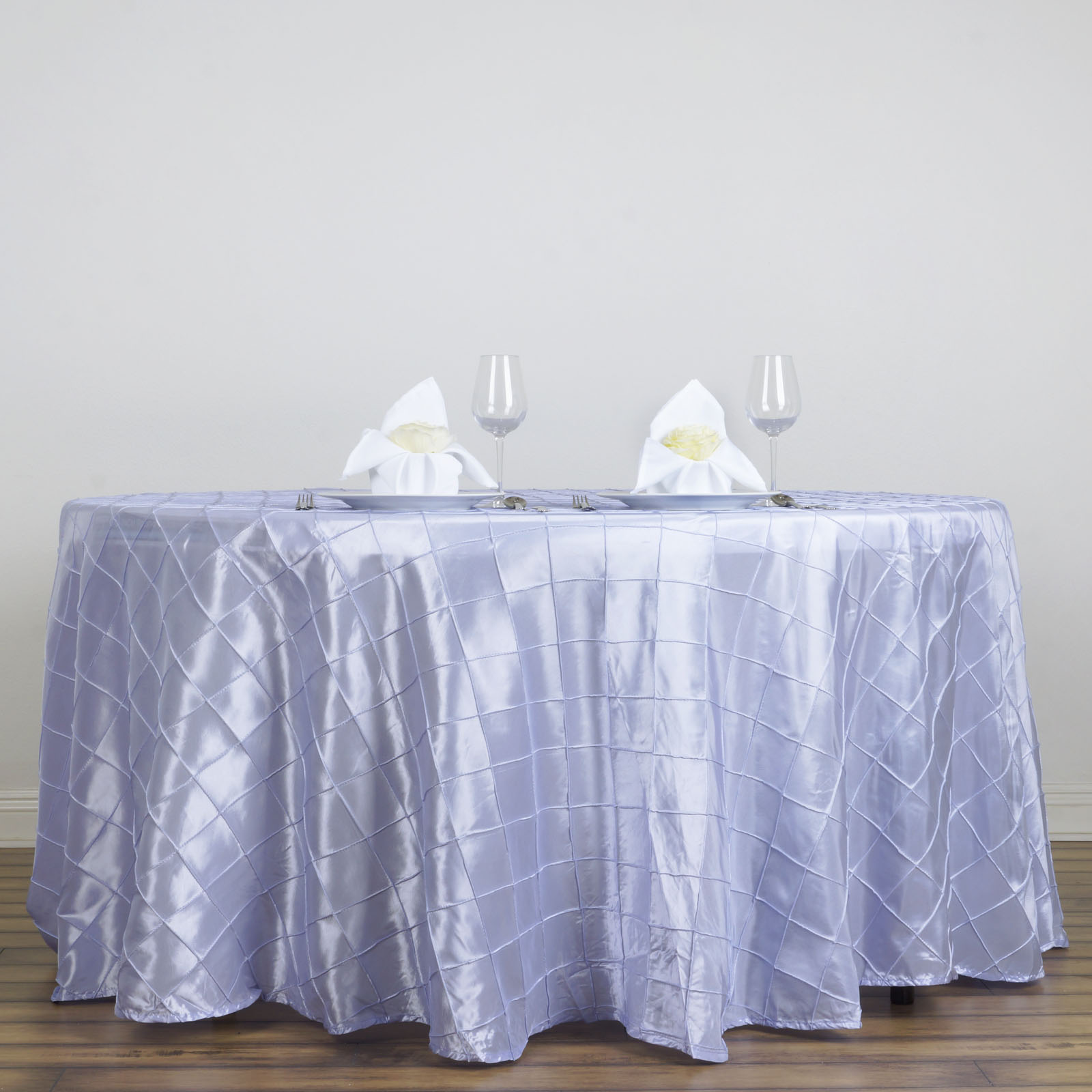 108 Round Pintuck Fancy TABLECLOTH Wedding Party Table Linens Wholesale