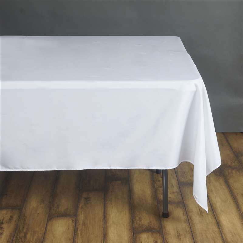 10 pcs 90x90 square polyester tablecloths wedding table for 10 foot table cloth