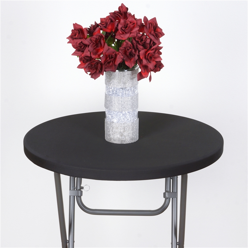 Cocktail Fitted Spandex TABLE Top COVER Wedding Party  : tabtcockblk 2 from www.ebay.com size 800 x 800 jpeg 323kB