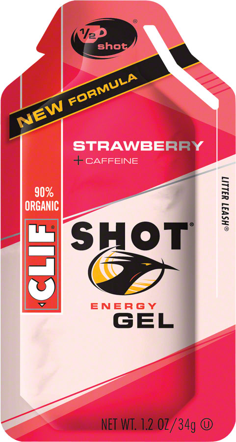 Clif Bar Clif Shot: Strawberry with Caffeine; 24-Pack at Sears.com