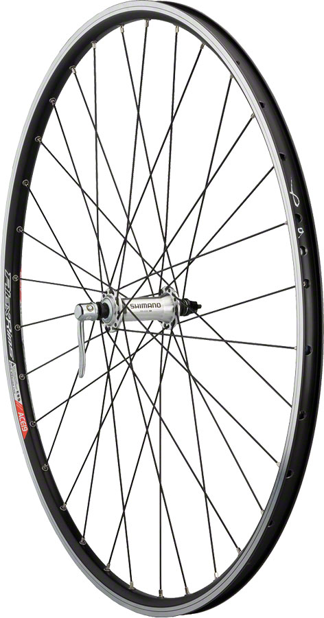 Dimension Road Front Wheel 700c Shimano 2200 Silver / Alex ACE 19 Black