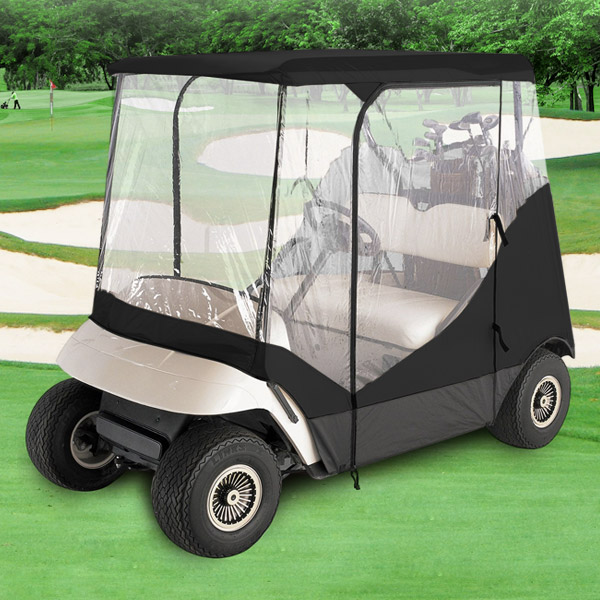 Universal Golf Club Cart Cover W Zipper Doors Buggy