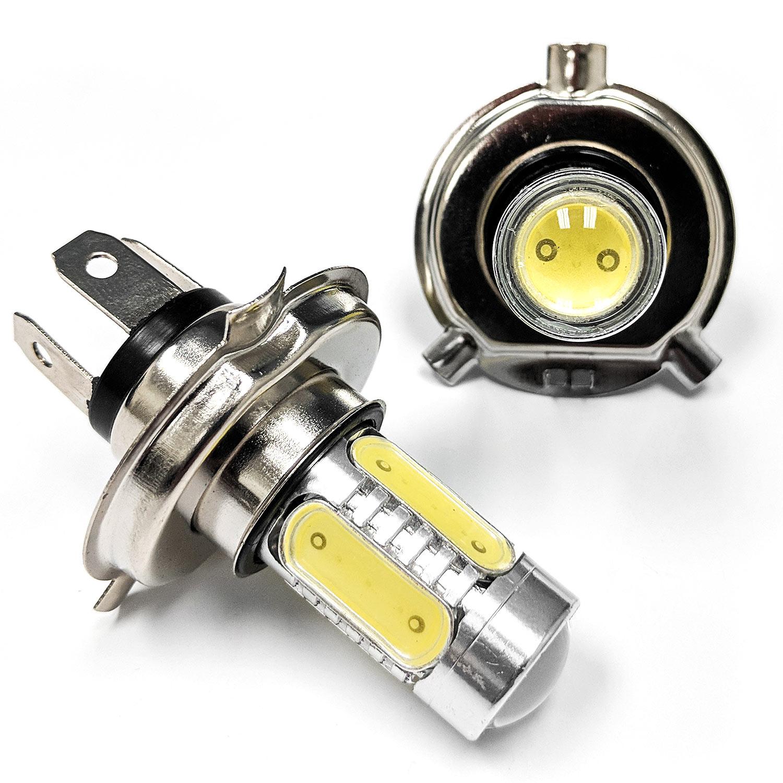 h4 9003 40w led cob motorcycle bulb headlight hi lo beam. Black Bedroom Furniture Sets. Home Design Ideas