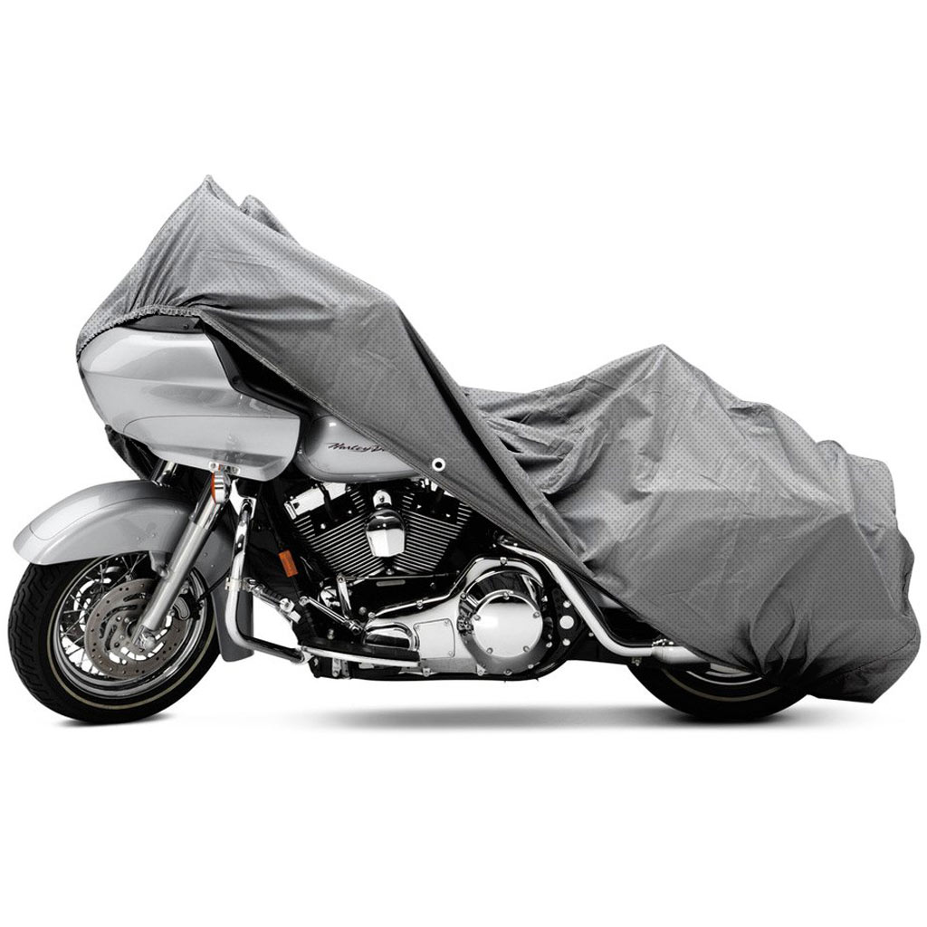 Motorcycle Covers Shelter : Motorcycle cruiser bike layer weatherproof cover shelter
