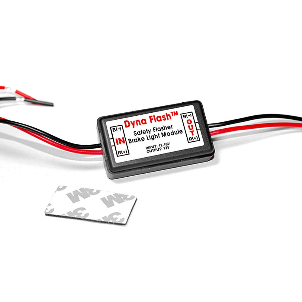 dyna flash strobe controller flasher safety module for led. Black Bedroom Furniture Sets. Home Design Ideas