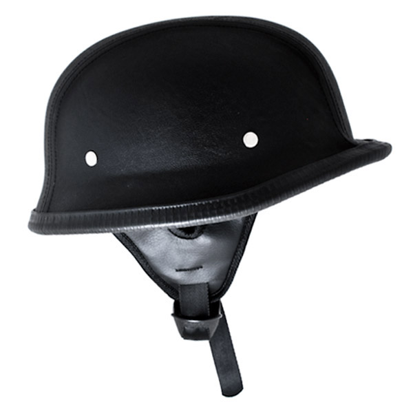 Low profile half helmets