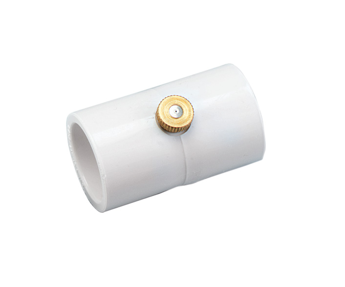 Orbit pk quot pvc coupling w brass stainless steel