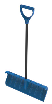 "Orbit 24"" Heavy Duty Pusher Snow Shovel, Blue - Winter Shovels - 80053 at Sears.com"