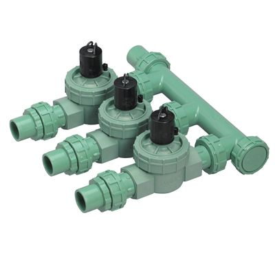 Irrigation system manifold