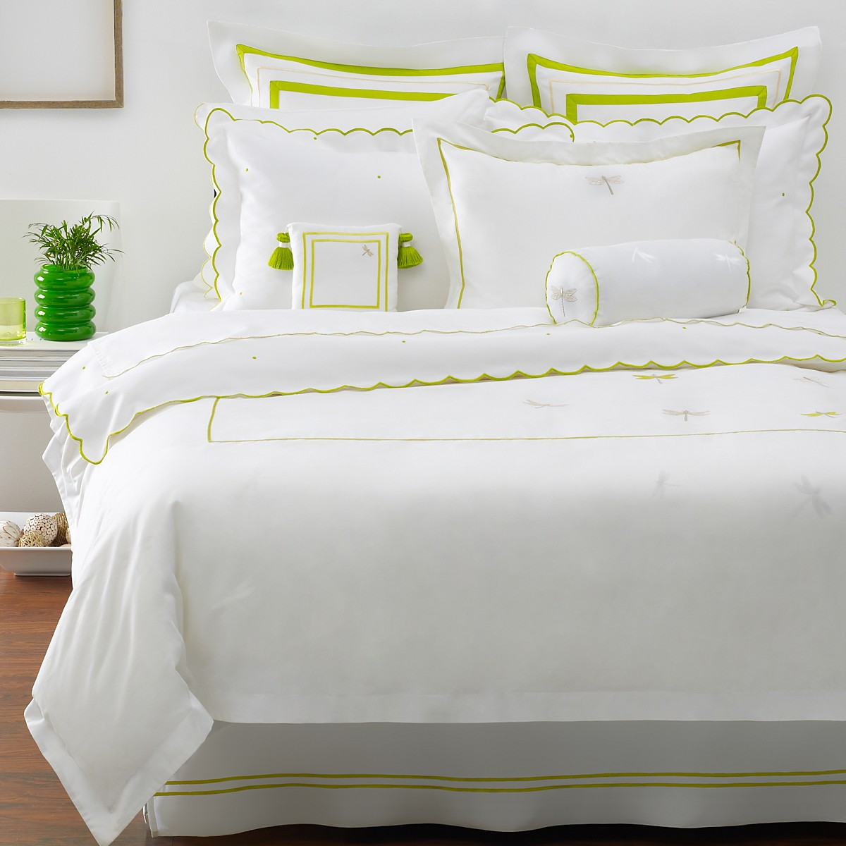 Kate Spade June Lane Embroidered King Duvet Cover