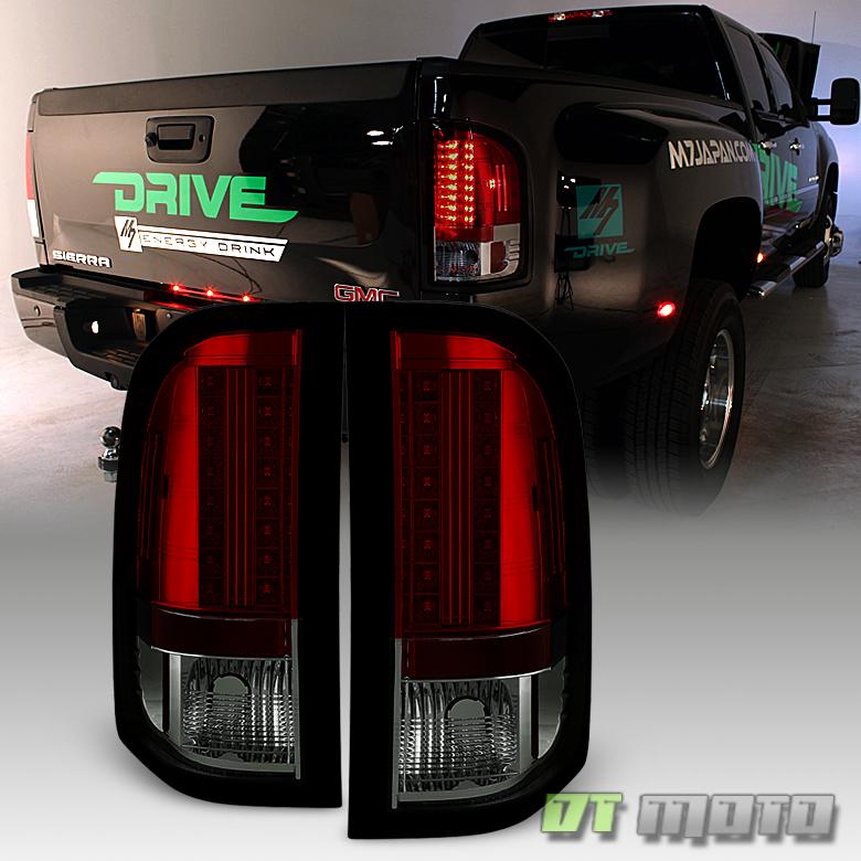 2007-2013 Chevy Silverado 1500 2500HD 3500HD Red Smoke