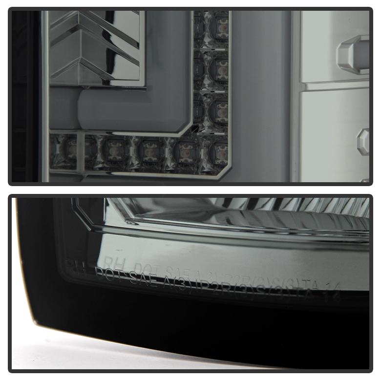 2014 2015 2016 2017 GMC Sierra 1500 2500/3500 HD Smoke LED