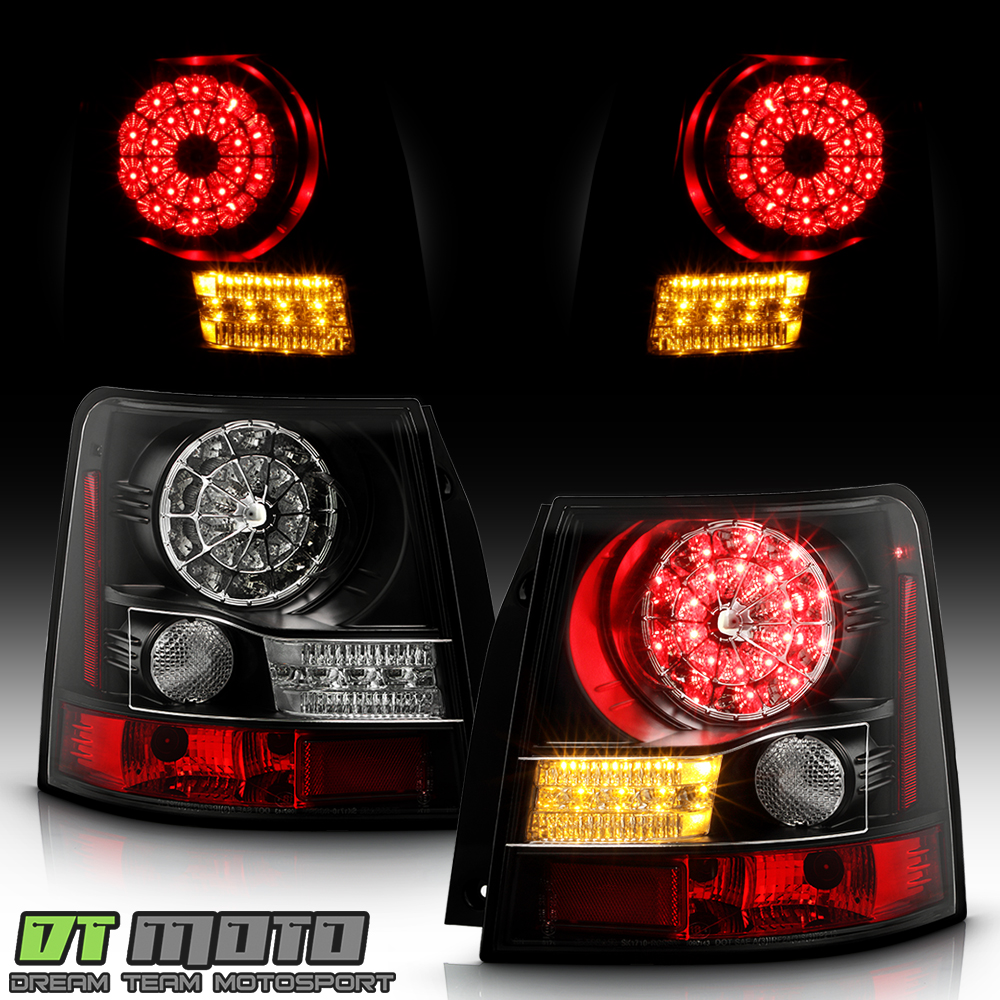 black 2006 2009 land rover range rover sport lumileds led. Black Bedroom Furniture Sets. Home Design Ideas
