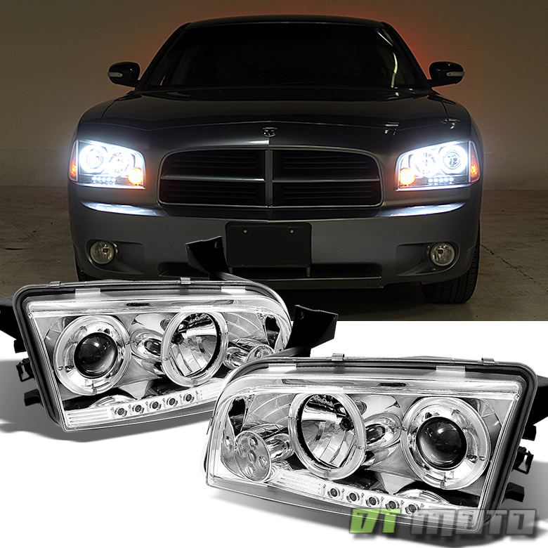 how to change halo light on dodge charger