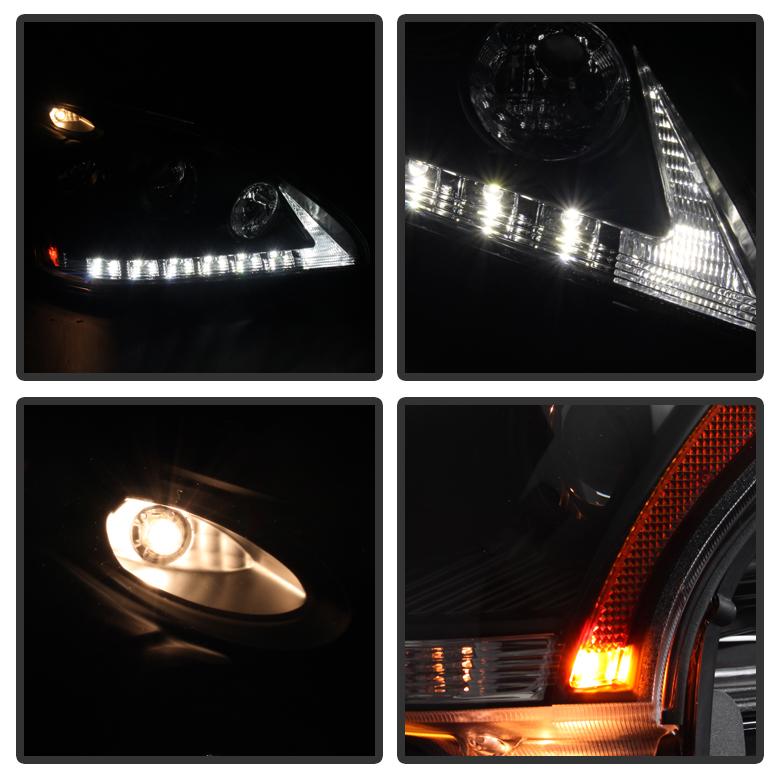 04 06 Lexus Rx330 Halogen Model Led Drl Projector