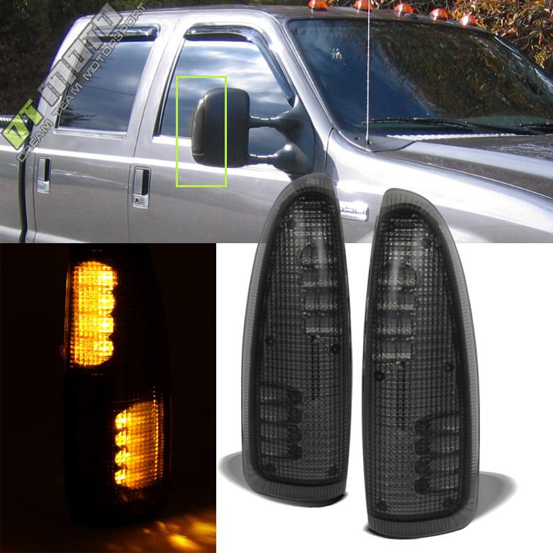 2003-2007 Ford F250/F350/F450 Super Duty Tow Mirror LED