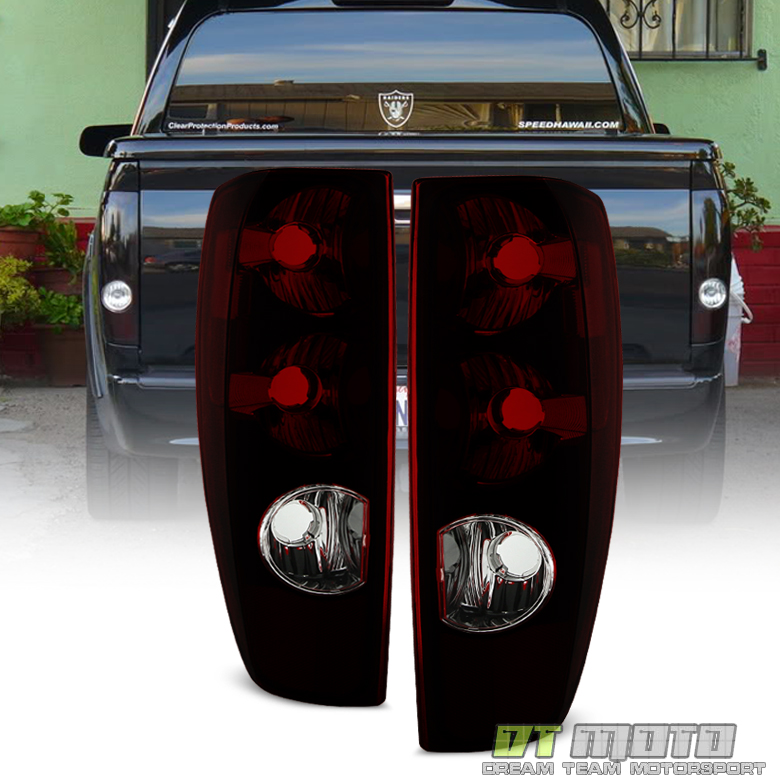 Red Smoke 2004-2012 Chevy Colorado GMC Canyon Tail Lights
