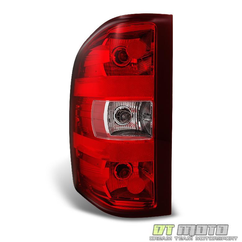 2007-2013 Chevy Silverado 1500 2500HD 3500HD Tail Lights