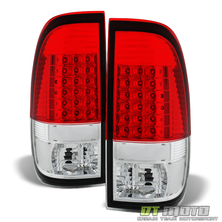 1997 2003 ford f150 99 07 f250 f350 sd led tail lights. Black Bedroom Furniture Sets. Home Design Ideas