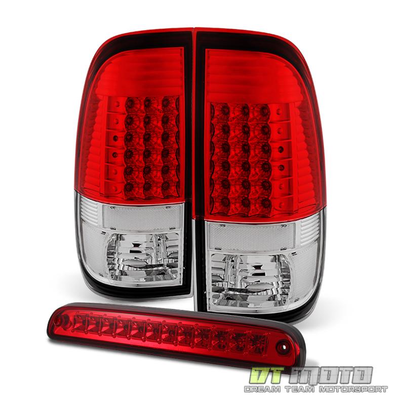 2008 2016 ford f250 f350 f450 led tail lights rear lamps. Black Bedroom Furniture Sets. Home Design Ideas