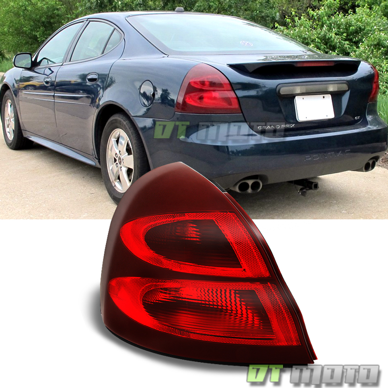 2004 2008 pontiac grand prix tail lights rear brake lamps. Black Bedroom Furniture Sets. Home Design Ideas