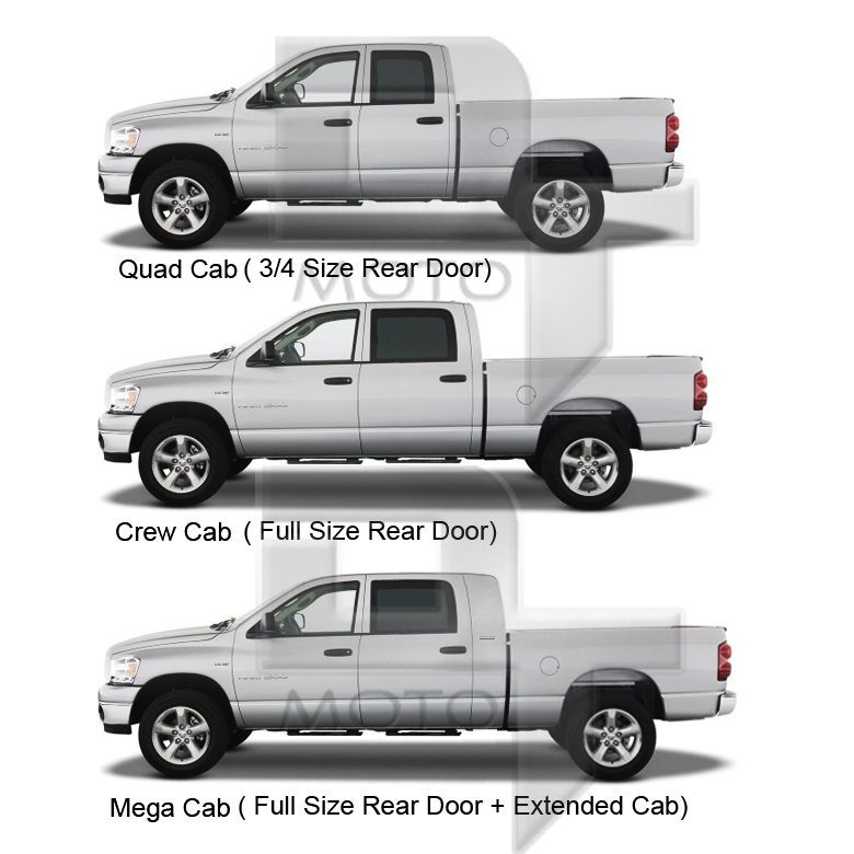 09-14 Dodge Ram Crew Cab 4-Inch Oval Side Step Nerf Bar