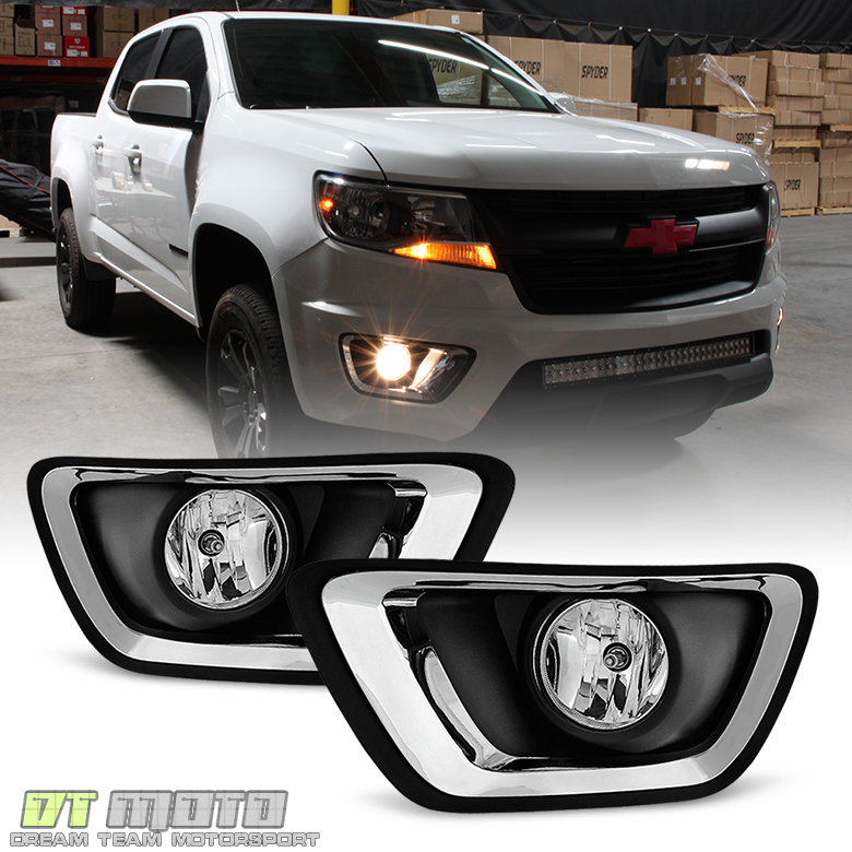 2015 Chevrolet Colorado Extended Cab Transmission: 2015-2017 Chevy Colorado Replacement Complete Fog Lights