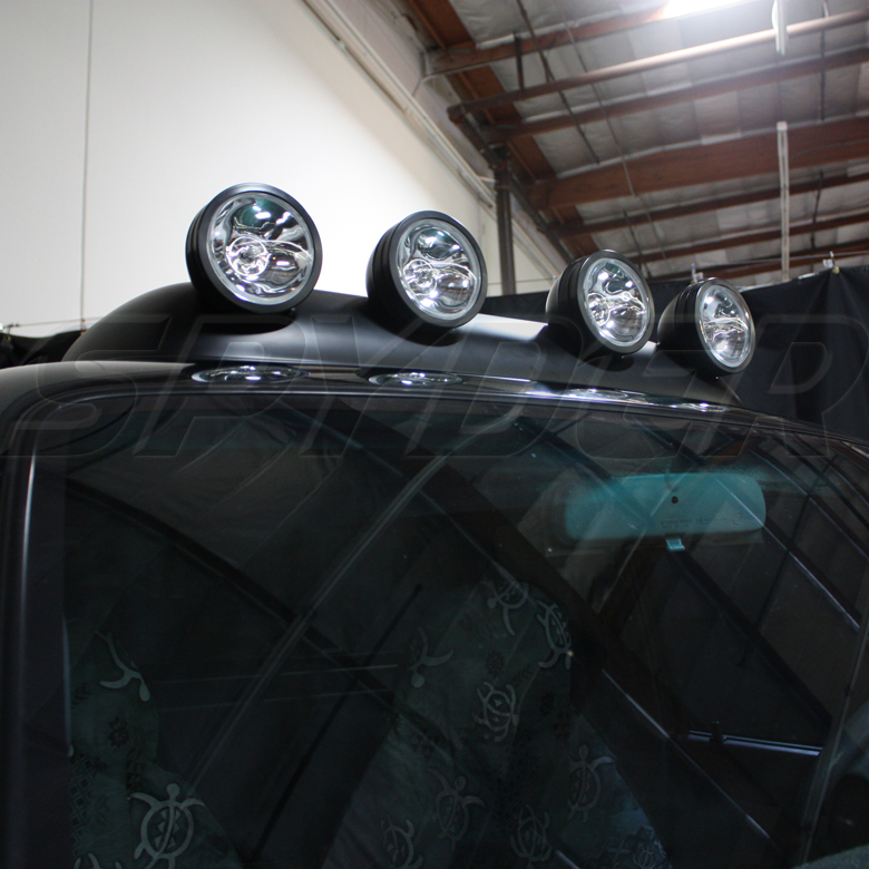 OFF ROAD USE ROOF TOP FOG LIGHTS BAR WIRING+SWITCH PICKUP TRUCK SUV