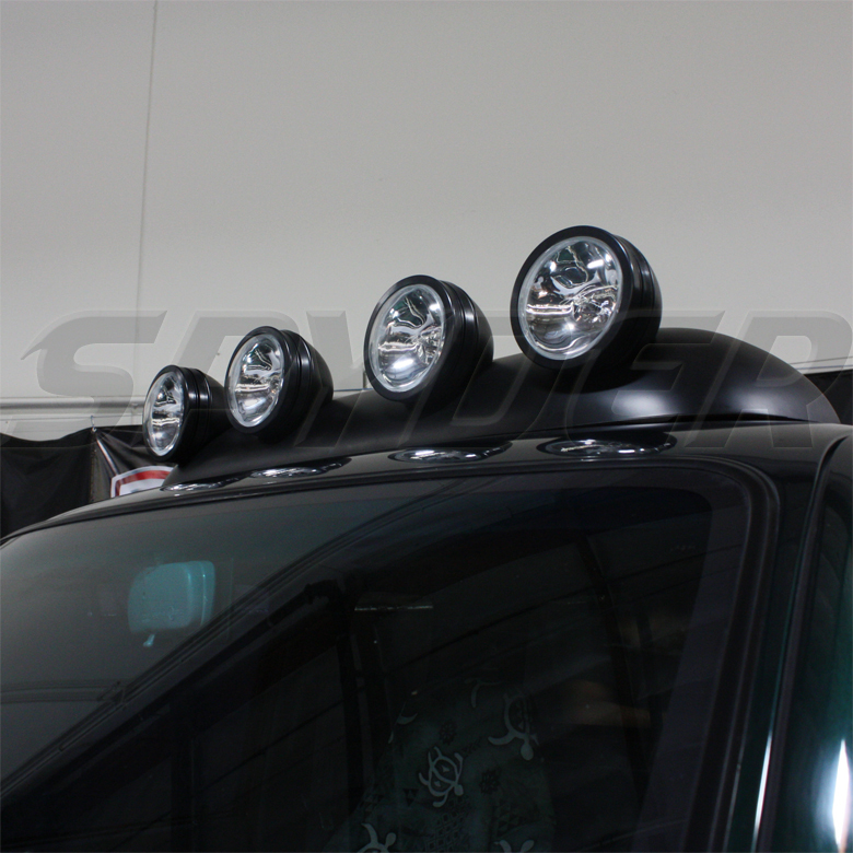 USE ROOF TOP FOG LIGHTS BAR WIRING+SWITCH PICKUP TRUCK SUV 4X4 RV JEEP