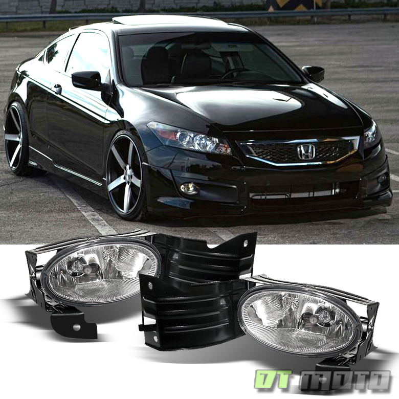 honda accord coupe driving bumper fog lights lamps wswitch leftright ebay
