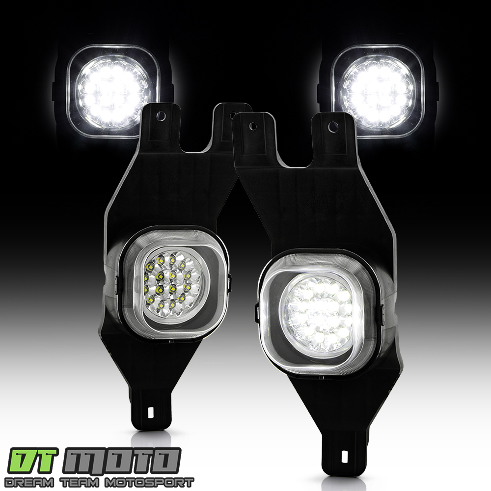 1999-2004 F250 F350 00-04 Excursion Full Led Bumper Fog