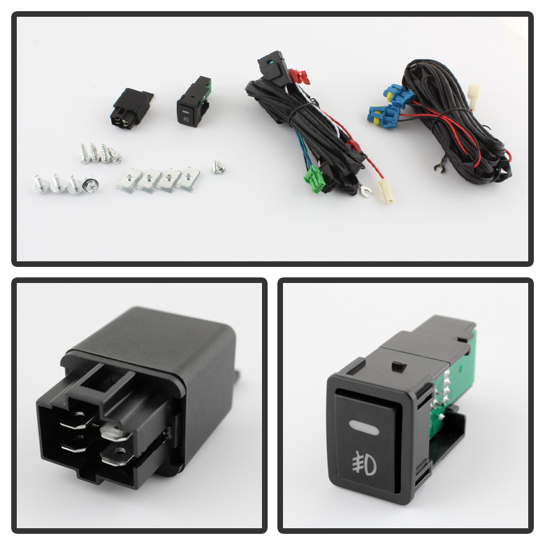 Fl Na Sm on led light bar wiring harness relay