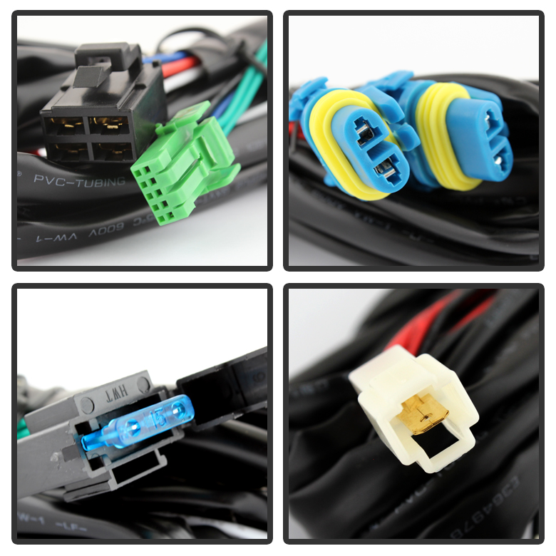 Fl Tric C on Wiring Relay Harness Hid Conversion Kit