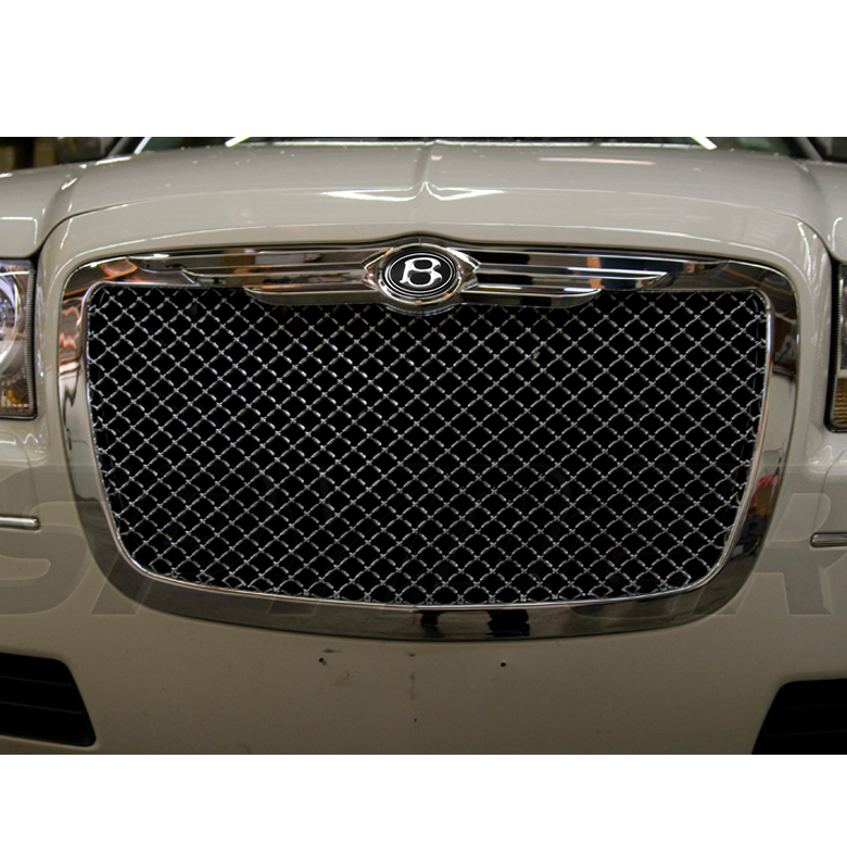 04-10 CHRYSLER 300 300C CHROME FRONT GRILLE GRILL+BENTLEY