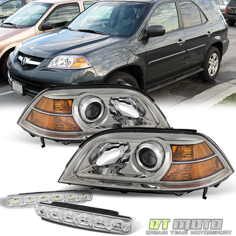 For 2004-2006 Acura Mdx Replacement Headlights Headlamps