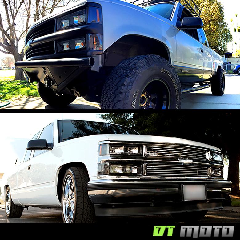 Black 1994-1998 Chevy Silverado C10 C/K Tahoe Suburban