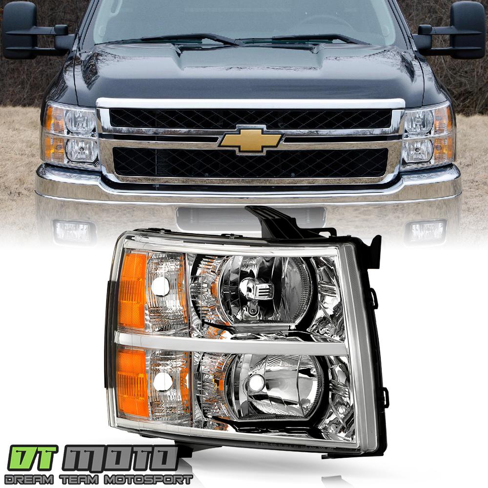 2007-2013 Chevy Silverado 1500 2500 Replacement Headlights