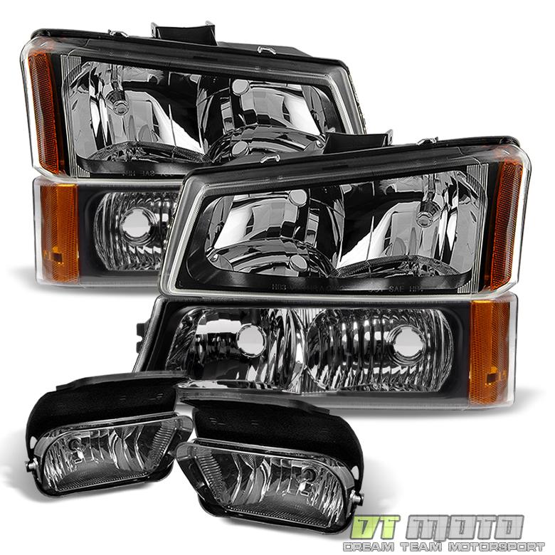 2006 Chevrolet Silverado 2500 Hd Crew Cab Camshaft: [6PC] 2003-2006 Chevy Silverado Headlights+Bumper Signal