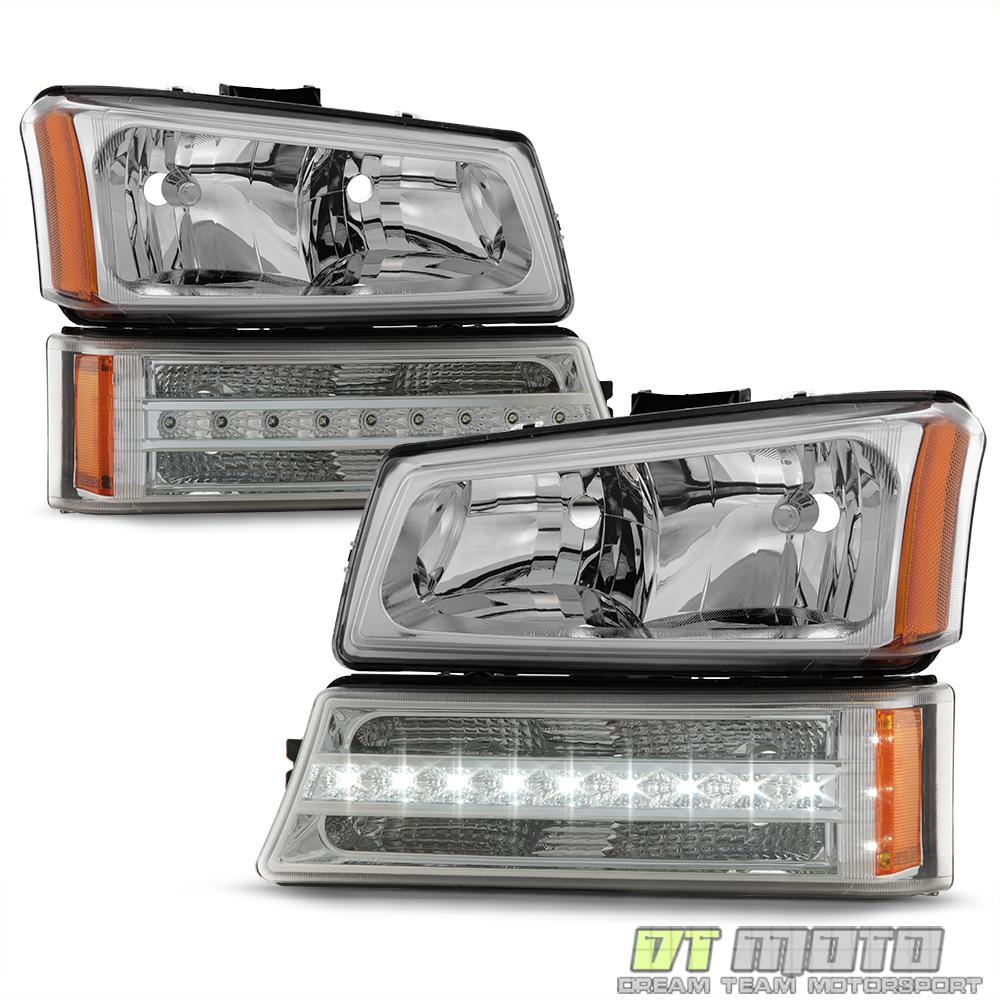2006 Chevrolet Silverado 2500 Hd Crew Cab Camshaft: 2003-2006 Chevy Silverado 1500 2500 3500 Headlights LED