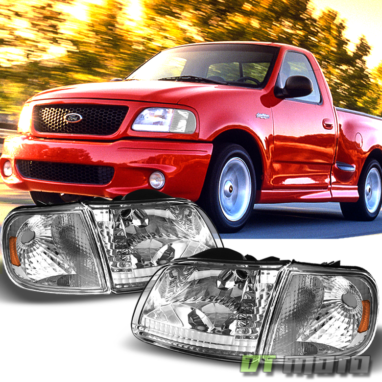 1997-2003 Ford F-150 F150 Expedition Headlights+Corner