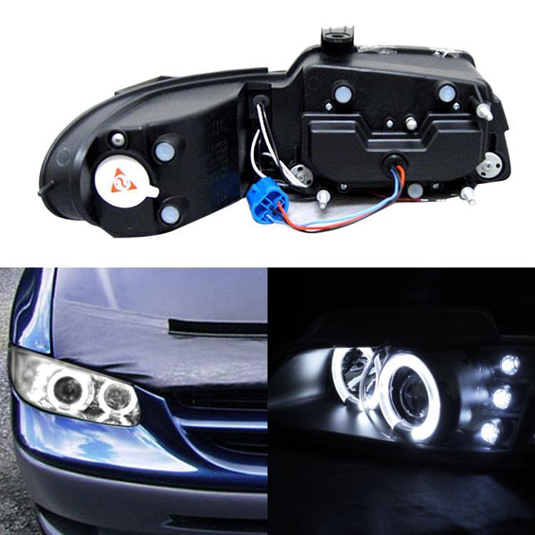 1996-2000 Dodge Caravan Halo & LED Euro Projector