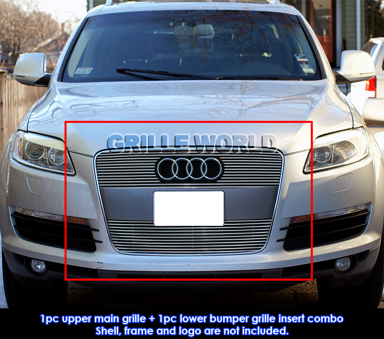 For 2007-2012 Audi Q7 Billet Grille Grill Insert