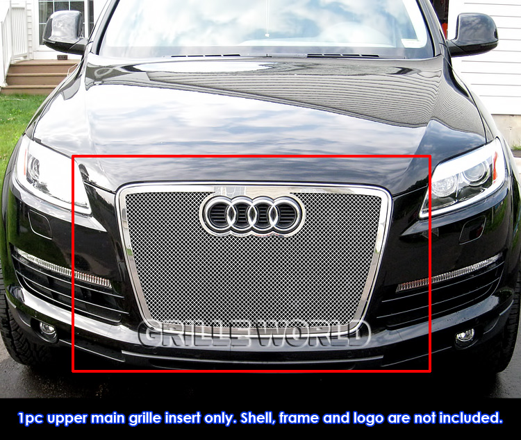 For 07-09 Audi Q7 Stainless Steel Mesh Grille Insert