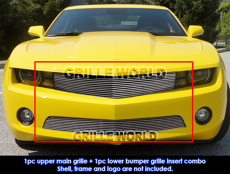 for 2010 2013 chevy camaro lt ls v6 billet grille grill. Black Bedroom Furniture Sets. Home Design Ideas
