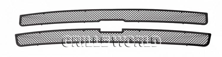 fits 1999 2002 chevy silverado 1500 00 06 suburban stainless black mesh grille ebay