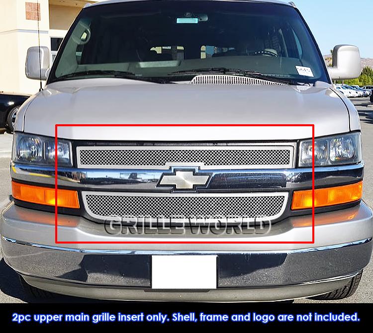 2014 Chevrolet Express 3500 Cargo Interior: Fits 2003-2016 Chevy Explorer Conversion Van Stainless