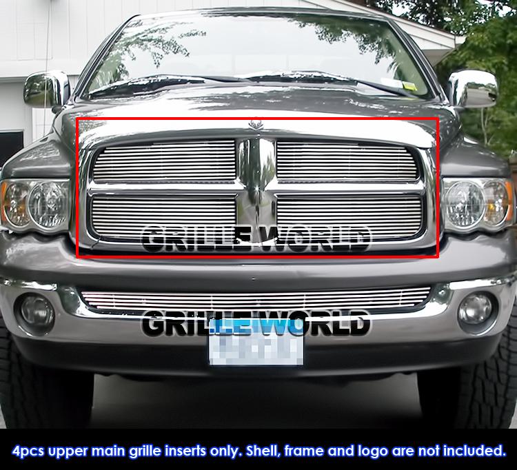 05 Dodge Ram: For 02-05 Dodge Ram Phat Billet Grille Insert