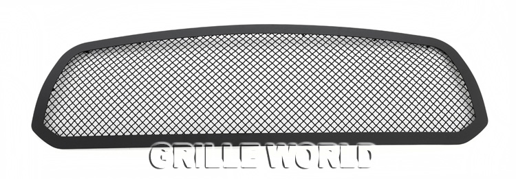Fits  ram carbon steel black mesh grille