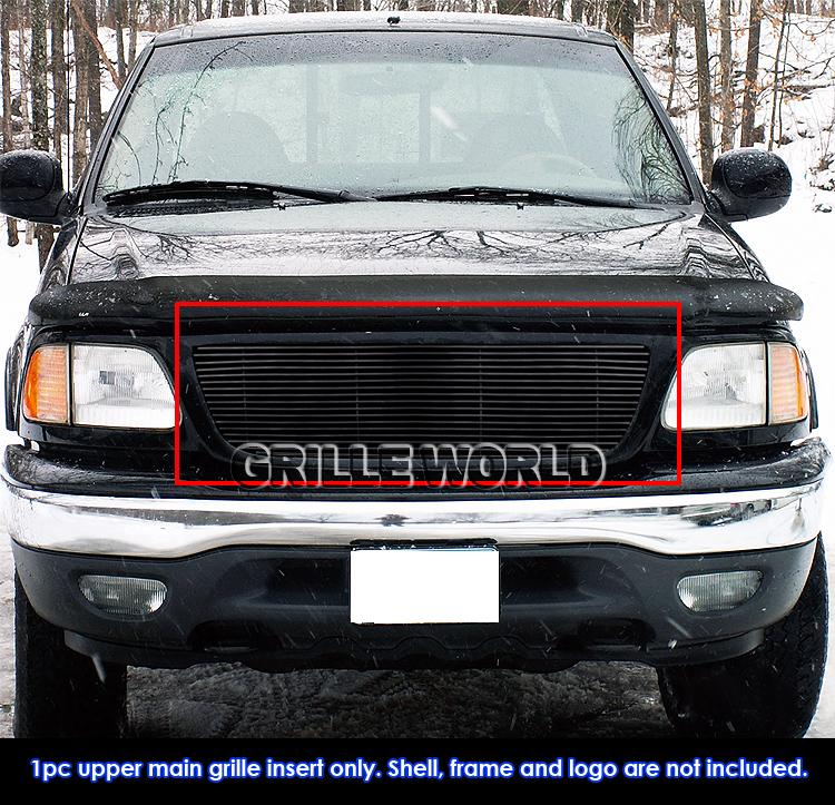 Ford F150 99: For 99-03 Ford F-150/Lightning/Harley Black Billet Grille